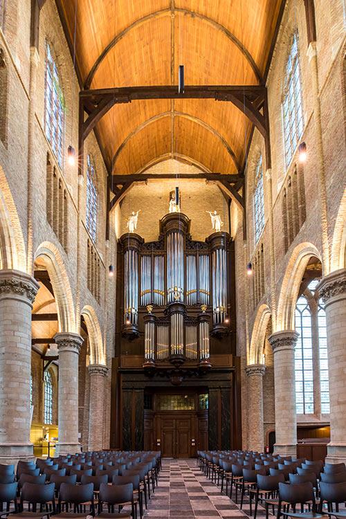 Restauratie J. Bätz 1840 Nieuwe Kerk Delft